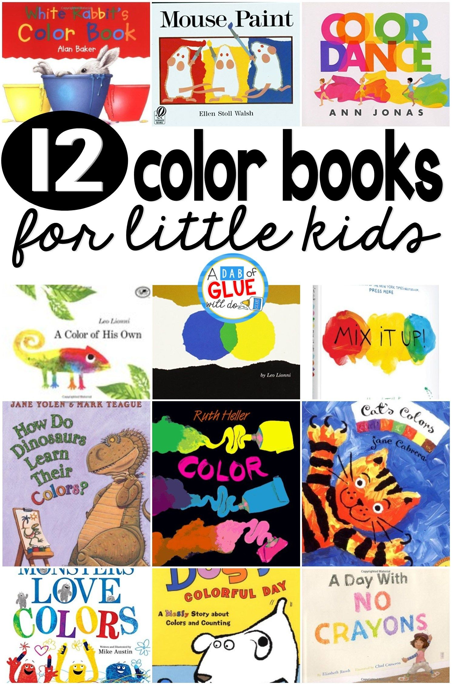 I Love These Books About Colors When I Am Teaching Colors