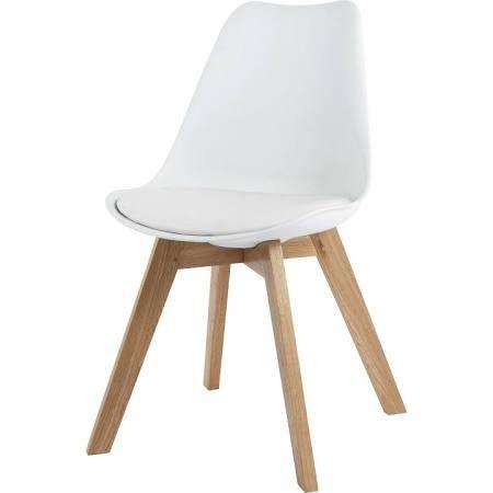 60euro Maison Du Monde Kunststoffstuhl Mit Holzbeinen Google