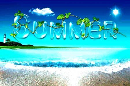 Summer 3d And Cg Wallpaper Id 1486142 Desktop Nexus Abstract Summer Background Images Summer Desktop Backgrounds Summer Backgrounds
