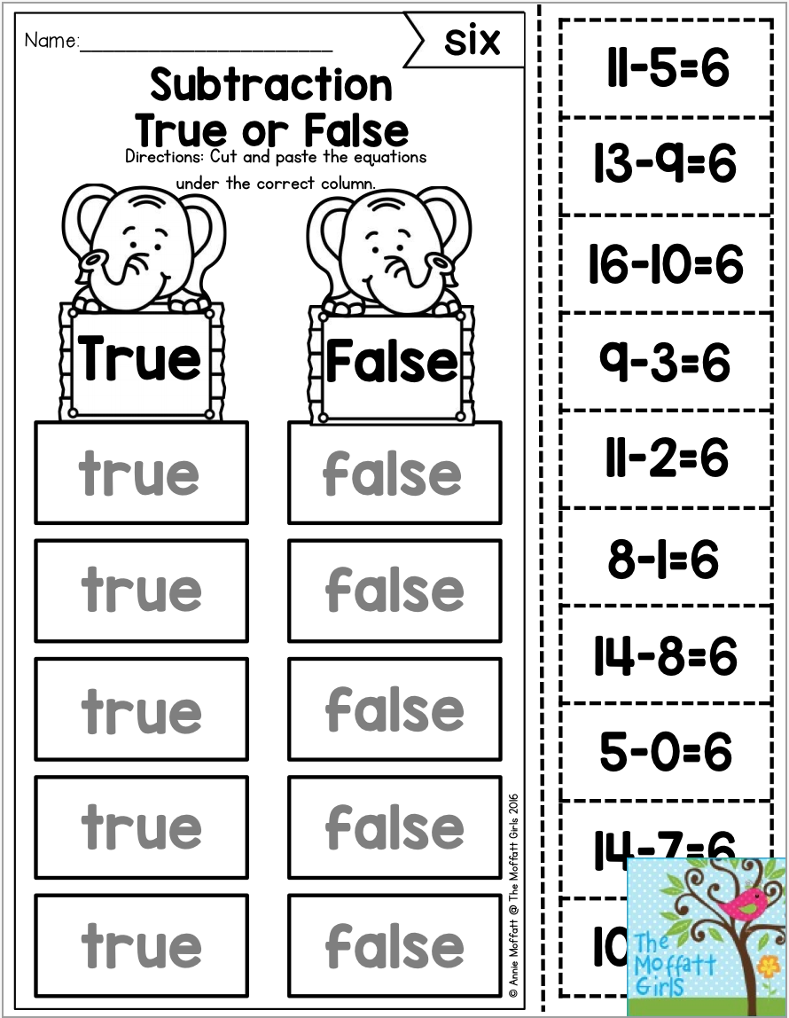 7 Different Ways To Master Addition And Subtraction Math Facts Including This True Or False Activity Students Have T Math Facts Addition And Subtraction Math [ 1148 x 890 Pixel ]
