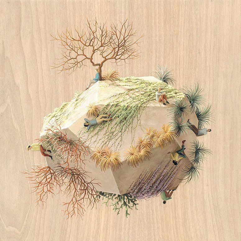 Merveilleux Culturenlifestyle: U201c Gravity Defying Surreal Sculpture Paintings  Barcelona Based Artist Cinta Vidal Agulló Creates Stunningly Surreal  Depictions Of Gravity ...