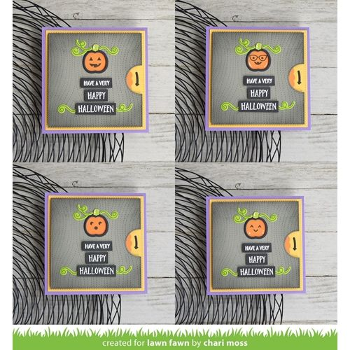 Lawn Fawn REVEAL WHEEL SQUARE ADDON Die Cuts LF1791 is part of lawn Square Yards -