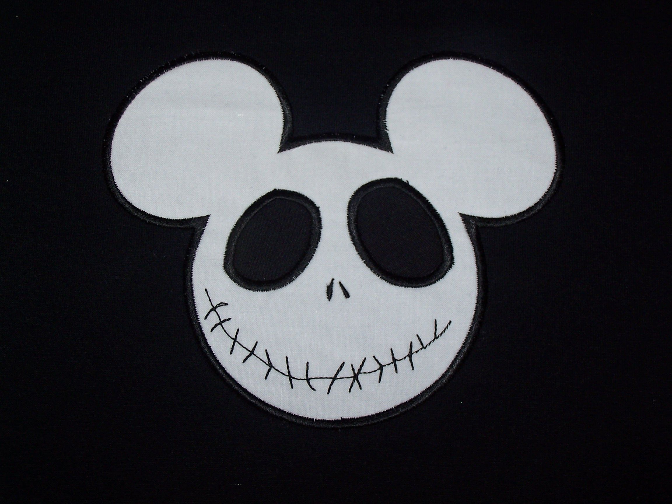 3f9c14f0785 Halloween Mickey Mouse Jack skellington Shirt Disney Custom