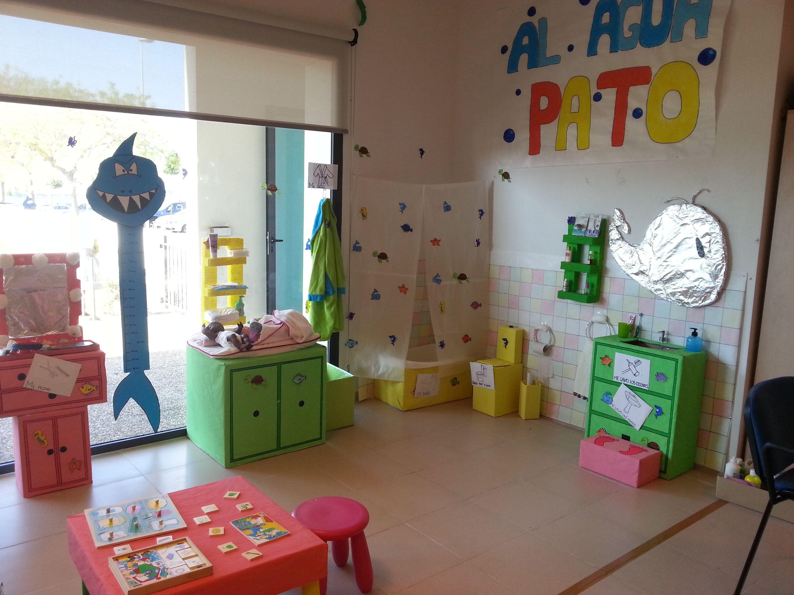 Rincones del aseo educacion infantil buscar con google for Decoracion salon infantil