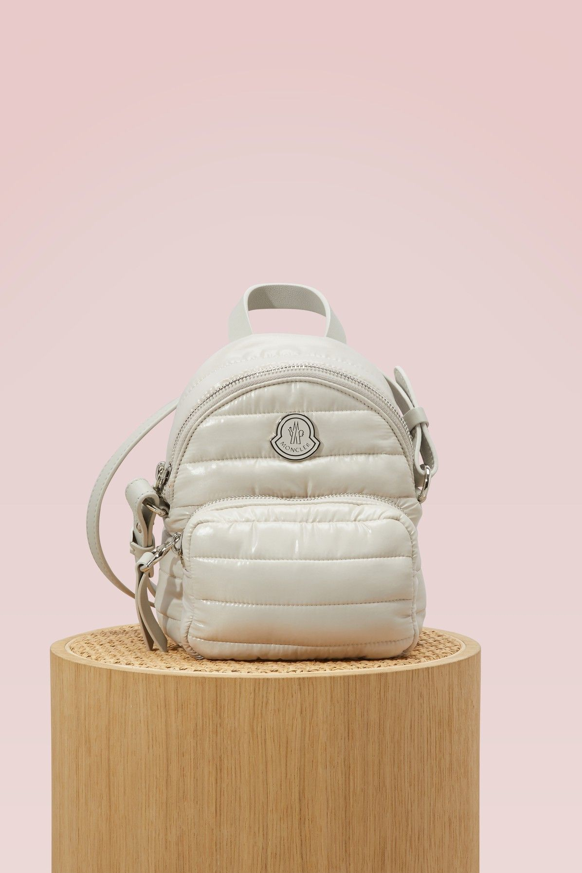 1e3ff206c MONCLER KILIA SMALL BACKPACK. #moncler #bags #leather #backpacks ...