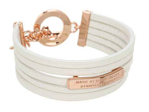 Marc by Marc Jacobs Multi Leather Toggle Bracelet Cinnamon Stick