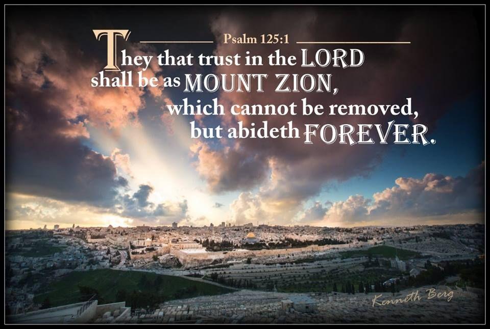 Image result for Psalm 125: 1-2 kjv