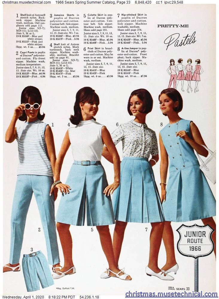 1966 Sears Spring Summer Catalog, Page 33 - Christ