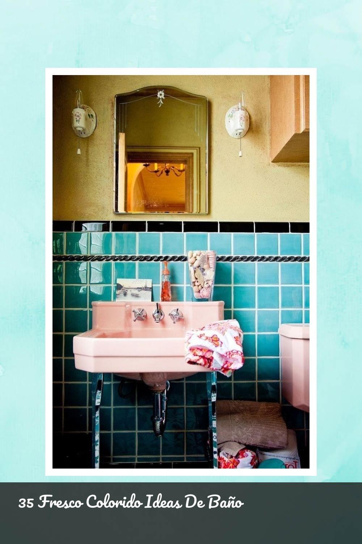 Fine 35 Fresco Colorido Ideas De Bano 35 Bathroom Colorful Cool Ideas Permalink Permalinkto 35coo Colorful Bathrooms Retro Bathrooms Retro Home Decor Caprieze fresso bathroom design