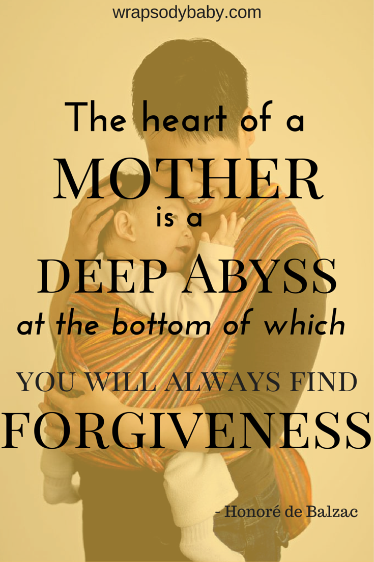 """Quotes About Mothers Love Beautiful Honore De Balzac Quote For Mothers """"the Heart Of A"""