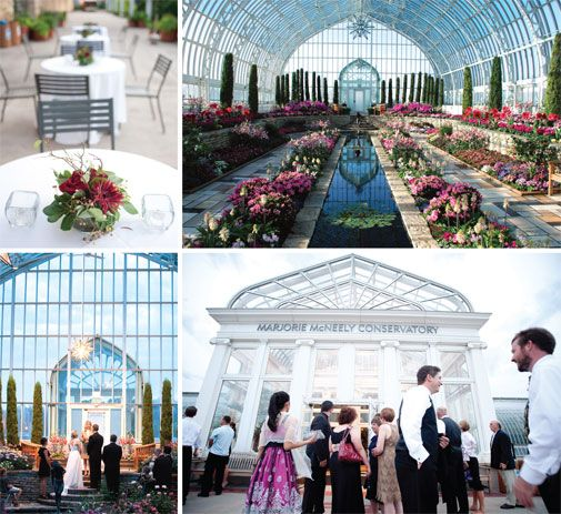 Colleen Peterson And Joe Crowley Hosted An Intimate Wedding Reception At Marjorie McNeely Conservatory Como Park Zoo In St Photos By Emma Freeman