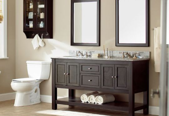 depot with bath bathroom the home d b compressed cabinets decorators tops aberdeen grey collection n in vanities vanity dove double sink