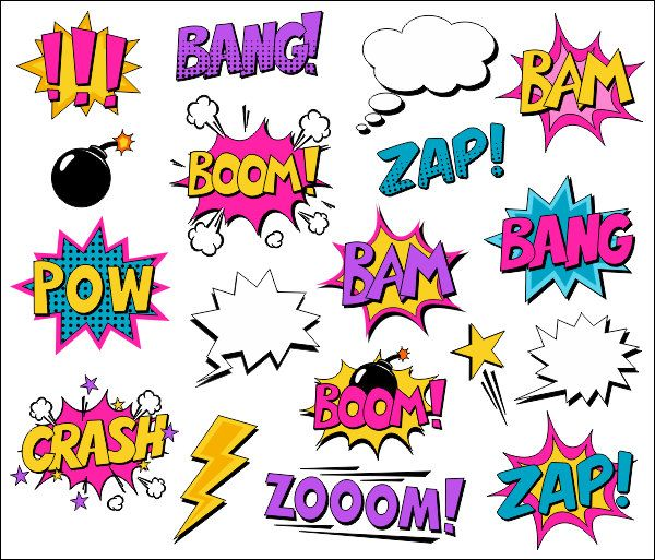 Superhero Girl Clipart Comic Book Clip Art Comic Text Speech