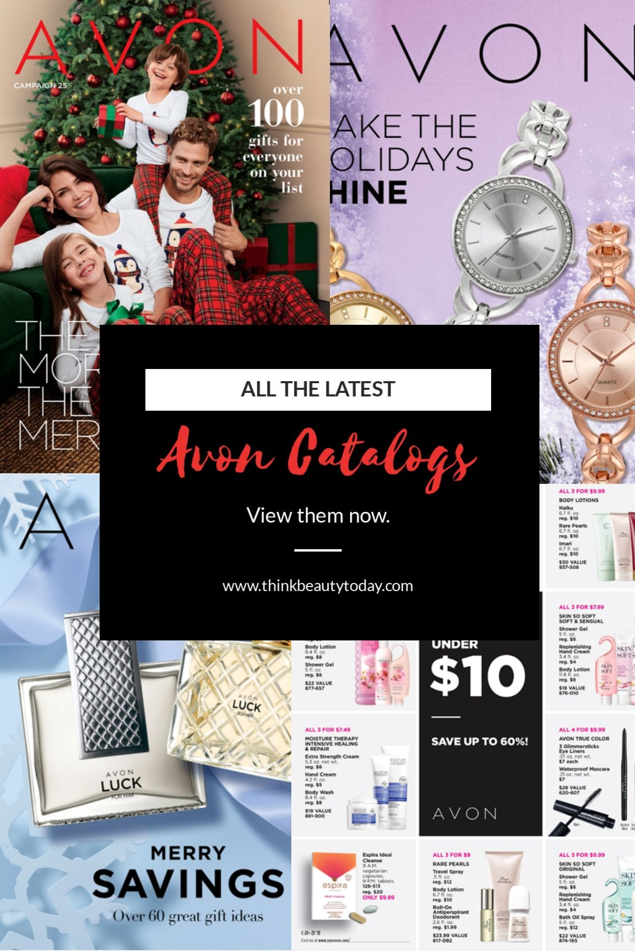 Christmas Gift Guide Catalogue.Pin On Avon Christmas Ideas For Gifts