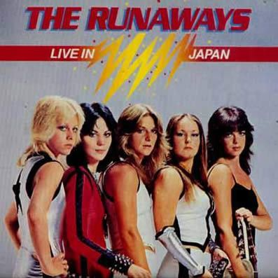 """Live in Japan"" de The Runaways (Mercury, 1977)."