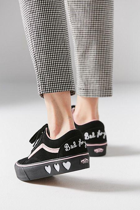 Vans X Lazy Oaf Old Skool Platform Sneaker  7a0fdfa93a1