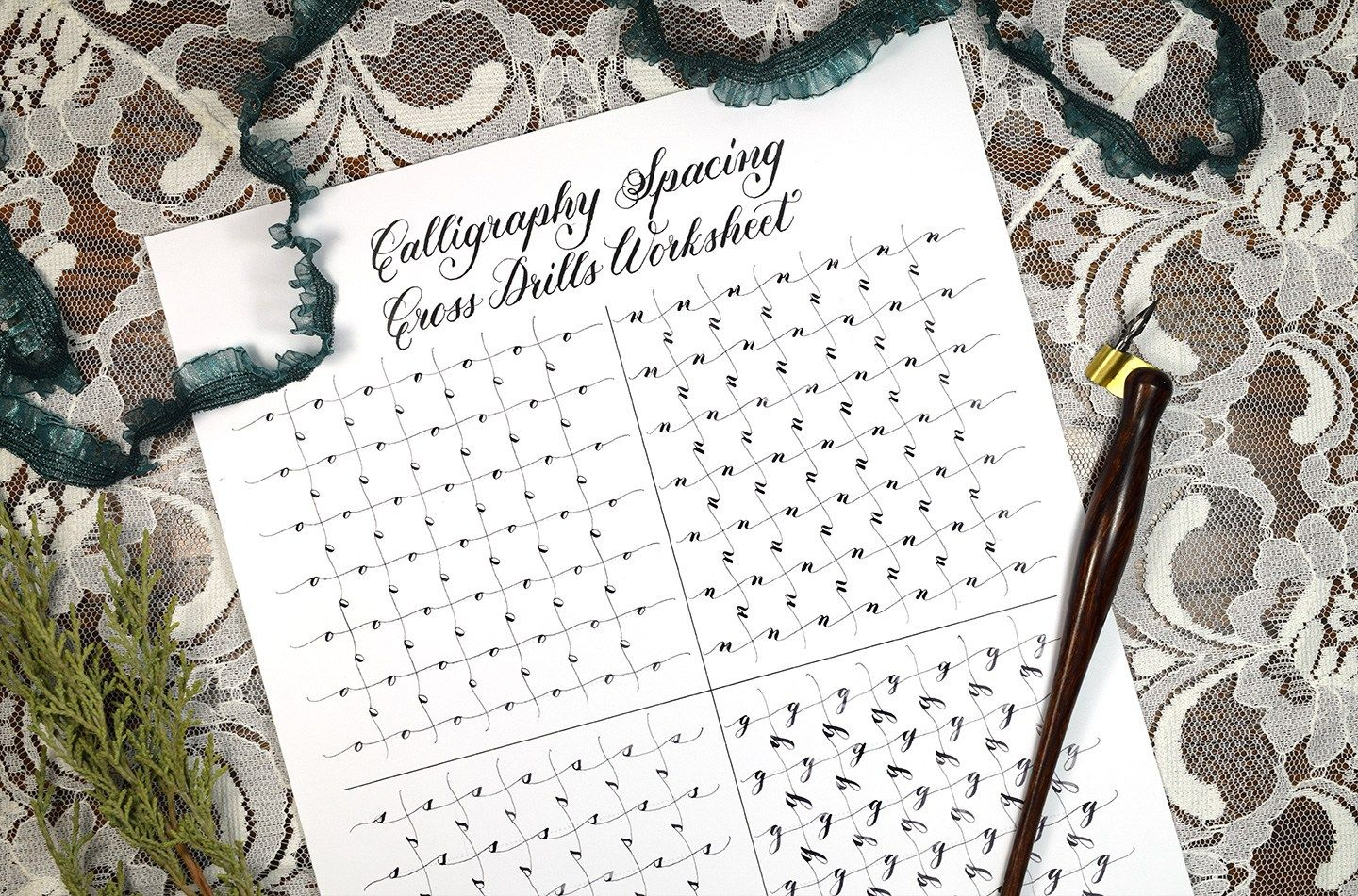 A List Of Tpk S Free Printable Calligraphy Practice Sheets