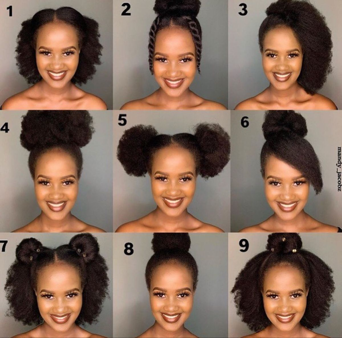 Simple Natural Hairstyles In 2020 Natural Hair Styles Easy Natural Hair Styles Natural Hair Braids