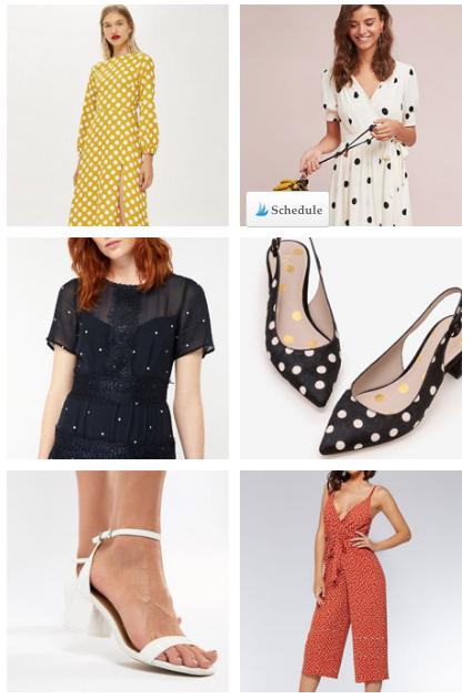 cf563125767 Polka Dot Outfit Ideas - Shop the Polka Dot Wedding Guest Outfit trend at We  Talk Weddings UK Blog - Polkadot Dress and Polka Dot Shoes  weddingblog ...