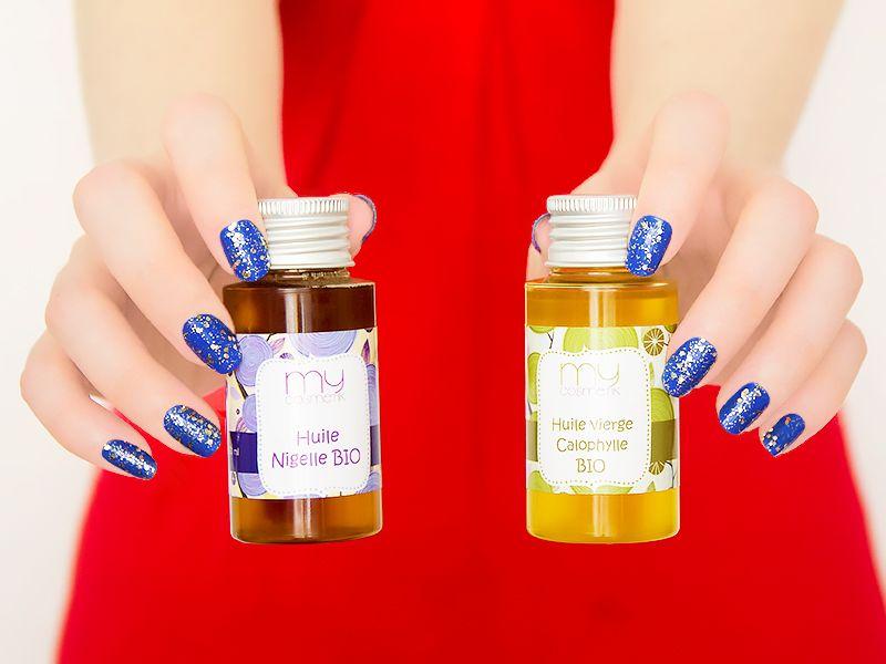 huile vegetale bouton visage