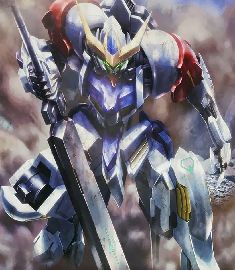 Gundam Iphone Wallpaper: Gundam Barbatos Lupus