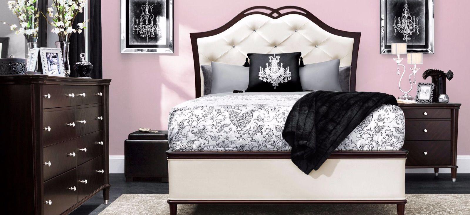 Raymour Flanigan Valentina 4 Piece Queen Size Bedroom Set
