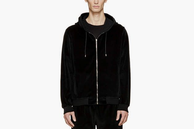 Velour Hoodie by Versace on What Drops Now