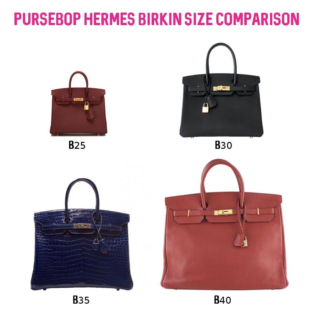 abacbb0ce6ee Get schooled in Hermes Birkin vs. Kelly 101! Read our most extensive  reference guide to date with features