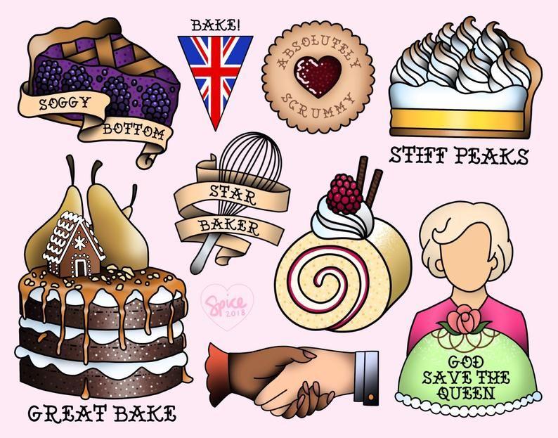 cute Crewneck Sweatshirt STAR BAKERGBBO Great british american bake off
