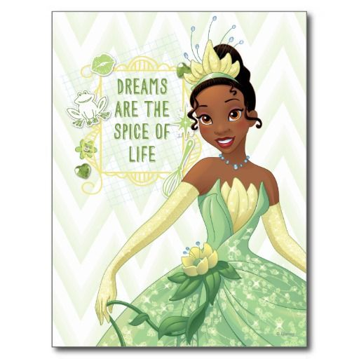 Tiana - Dreams Are The Spice Of Life Post Cards