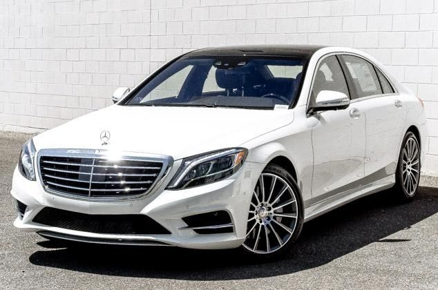 2015 mercedes white bing images - 2015 Mercedes S Class White