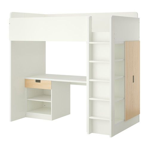 Ikea Stuva Loft Bed With 1 Drawer 2 Doors White Birch You Can