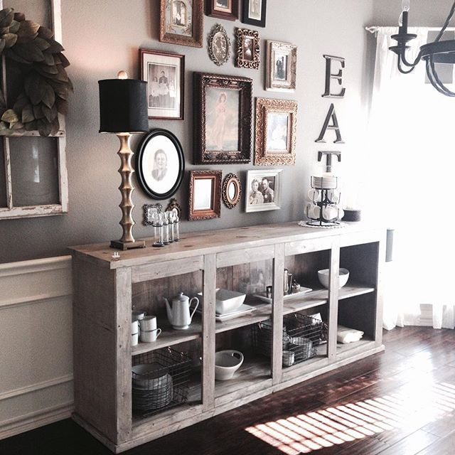Amazing Sideboard Dining Room Kitchen Buffet Table Rustic Ideas