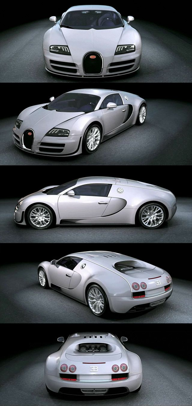 My Future Car. A Bugatti Veyron Super Sport