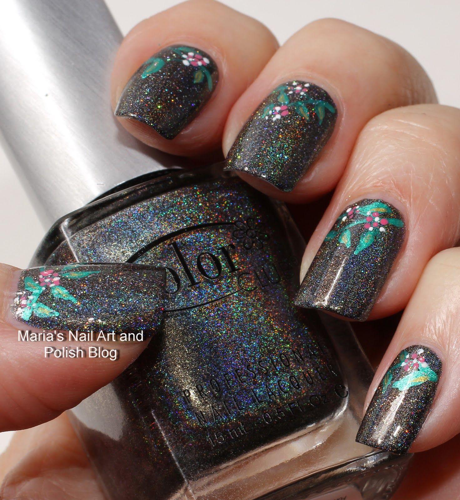 Beyond holo and glitter - nail art