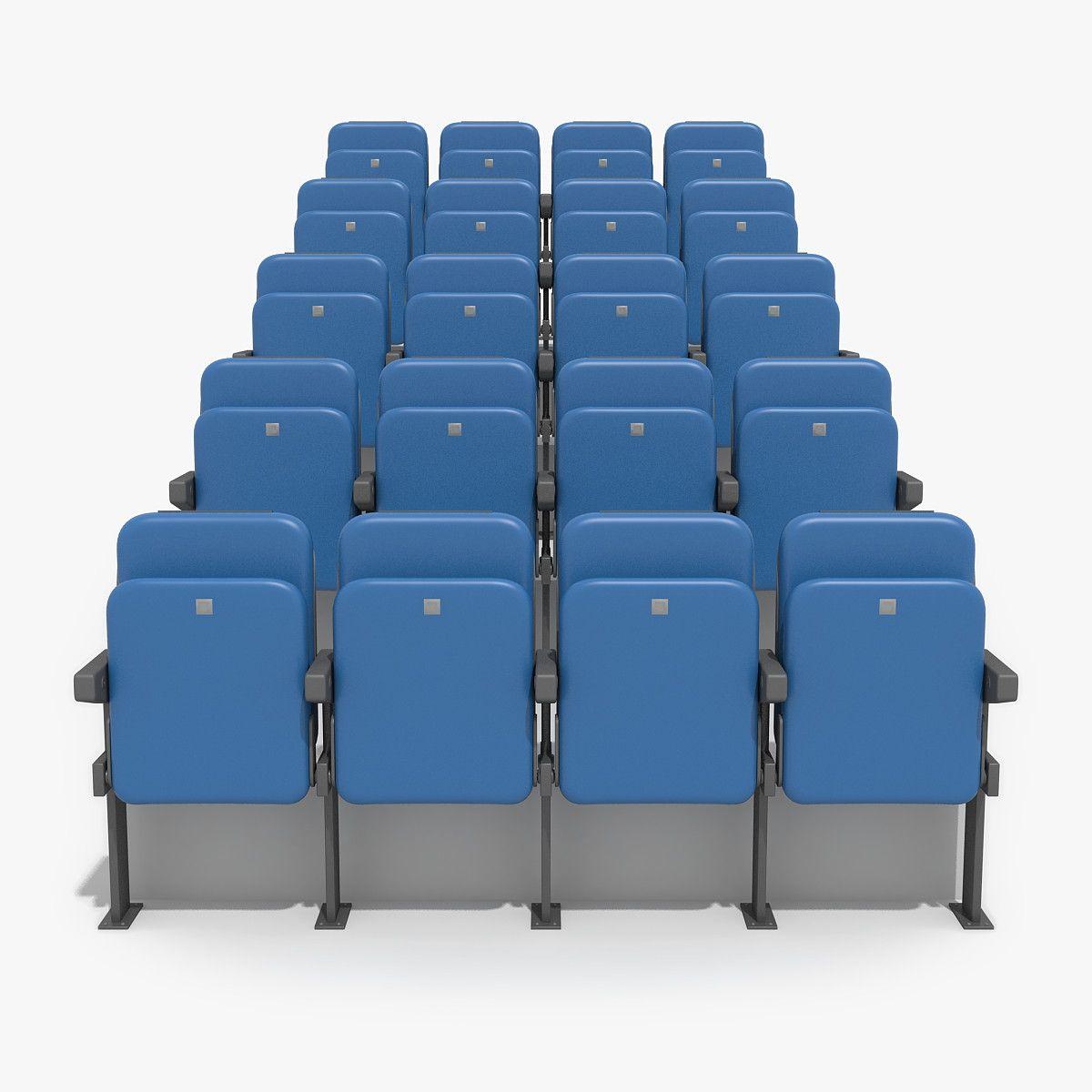 max stadium chairs - 3d model | 3d-modeling | pinterest