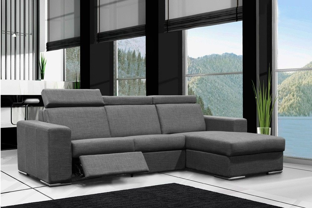 Sectionnel Modulaire 3 Morceaux Inclinable Sofa Fabric Sectional Sofas Furniture