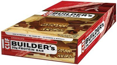 Clif Builders Bar Chocolate 68g 12 Box Lolly Mahoney Clif Bars Protein Bars Builder Bars