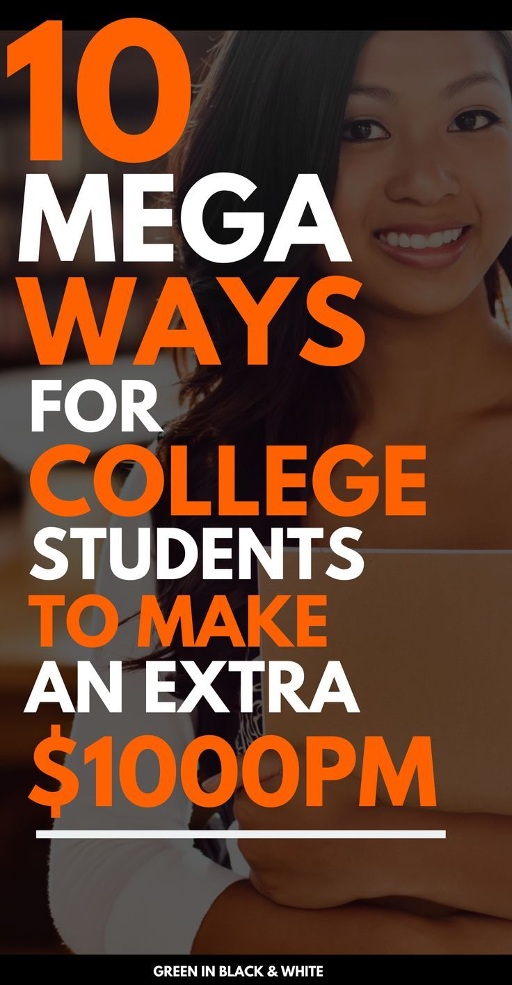 Are you a college student looking for ways to make extra