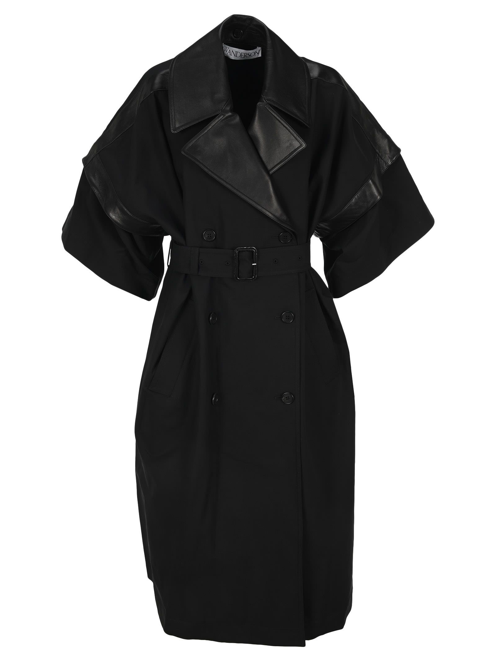 J.W.Anderson Jw Anderson Double Breasted Trench Coat
