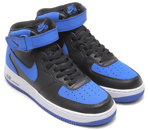 nike air force 1 jordans blue
