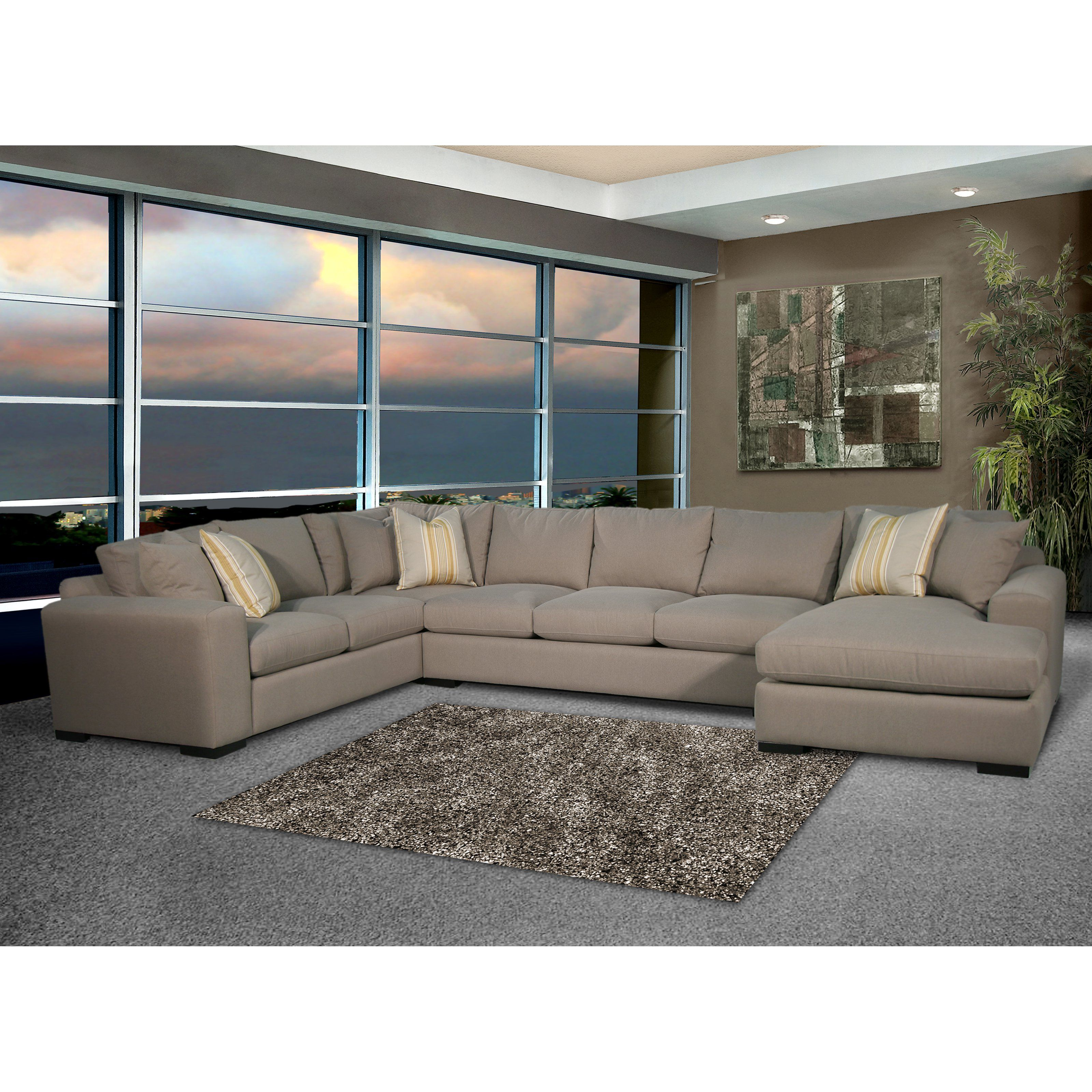 Fairmont Designs Venetzia 3-Piece Sectional Sofa with Chaise Lounge | from hayneedle.com  sc 1 st  Pinterest : chaise lounge sectional - Sectionals, Sofas & Couches