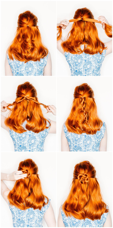 Easy flower braids hair tutorials pinterest flower easy and