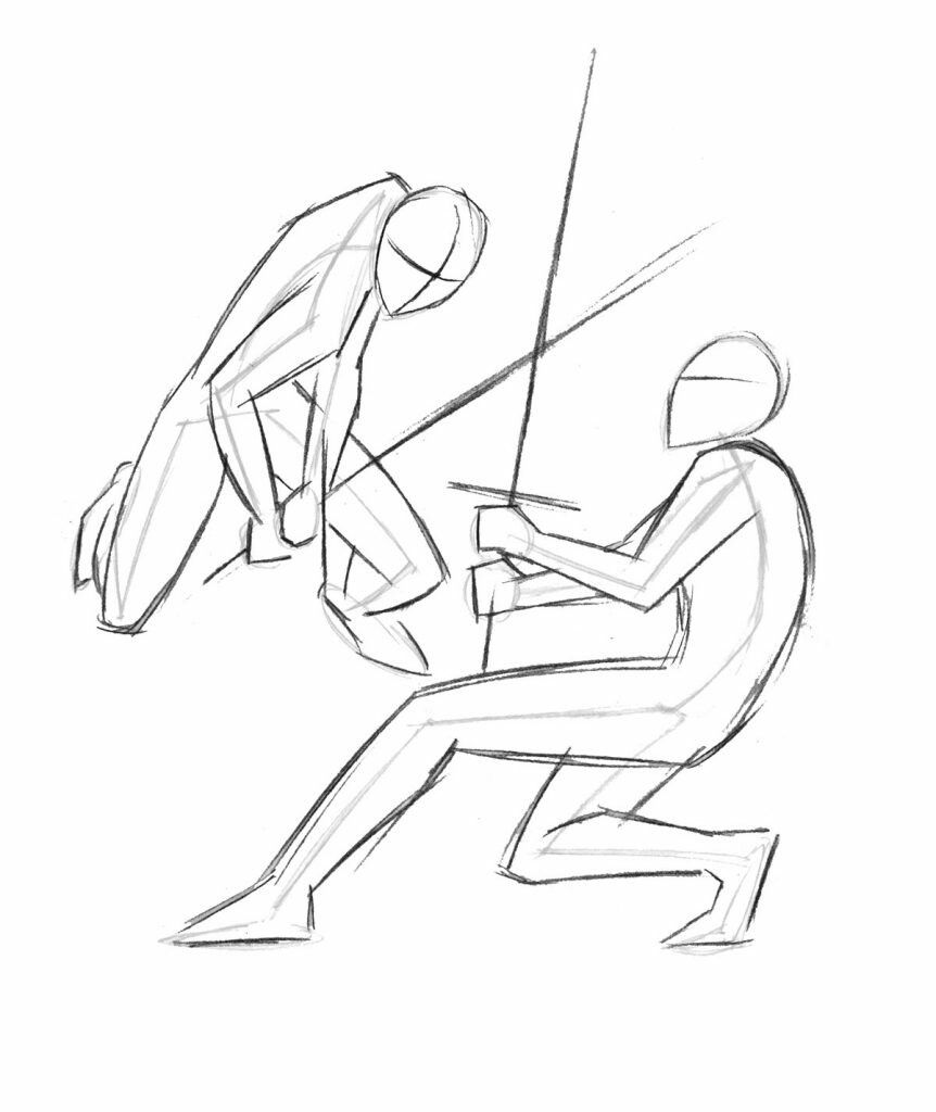 Pin By Fadly Tanjung On Dessin Fighting Drawing Drawing Poses Drawings
