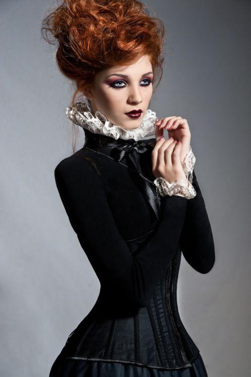 Glamour Glamunity Gothic Mode Modestil Kostume Damen