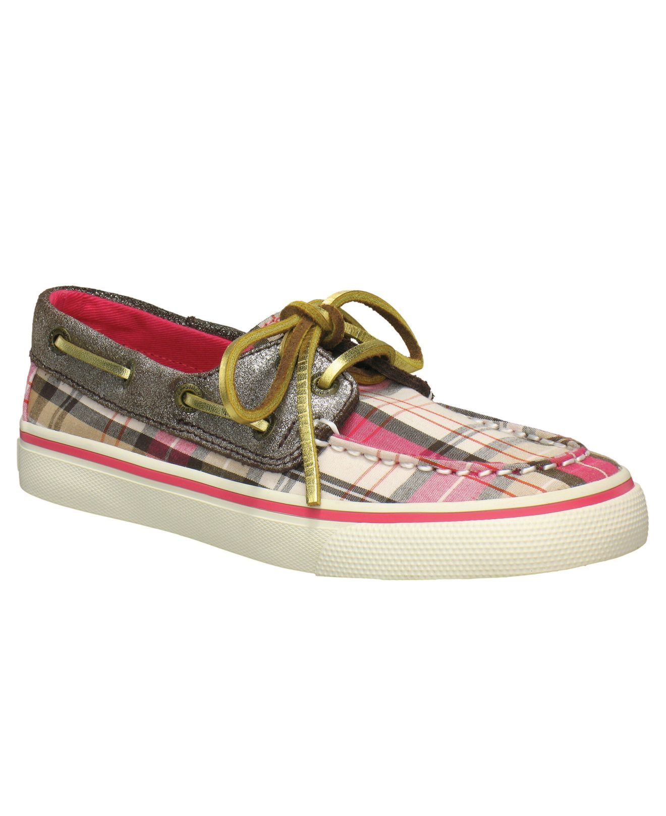 Sperry Kids Shoes Little Girls Sparkle Bahama Boat Shoes Kids