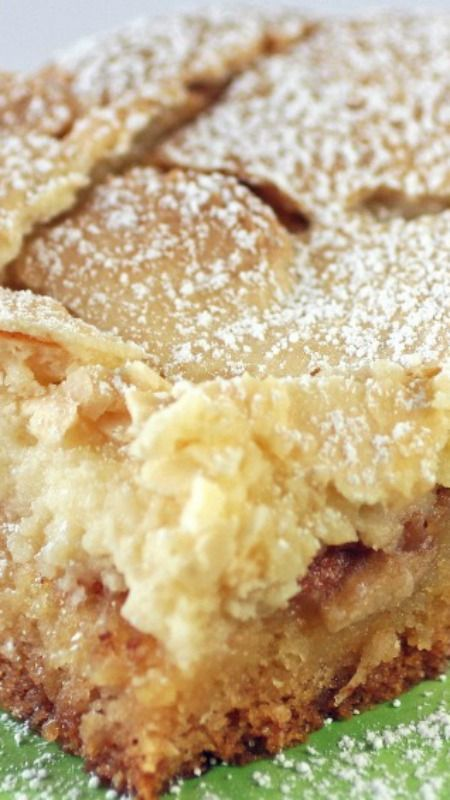 Spiced Apple Ooey Gooey Butter Cake Recipe More Yummy Stuff