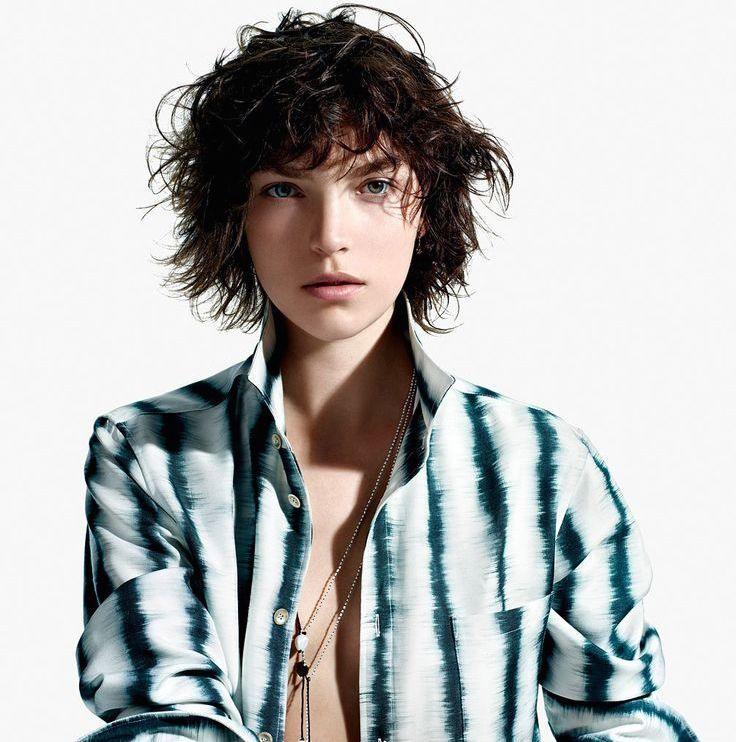 Get ready for lots of layers, some bangin' bangs and chop-chop inspiration.