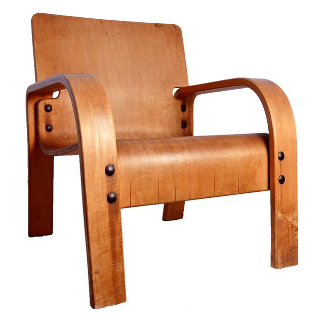 SEXY! Thonet Bentwood Lounge Chair.