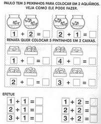 Resultado de imagem para atividades de matemática para educação infantil